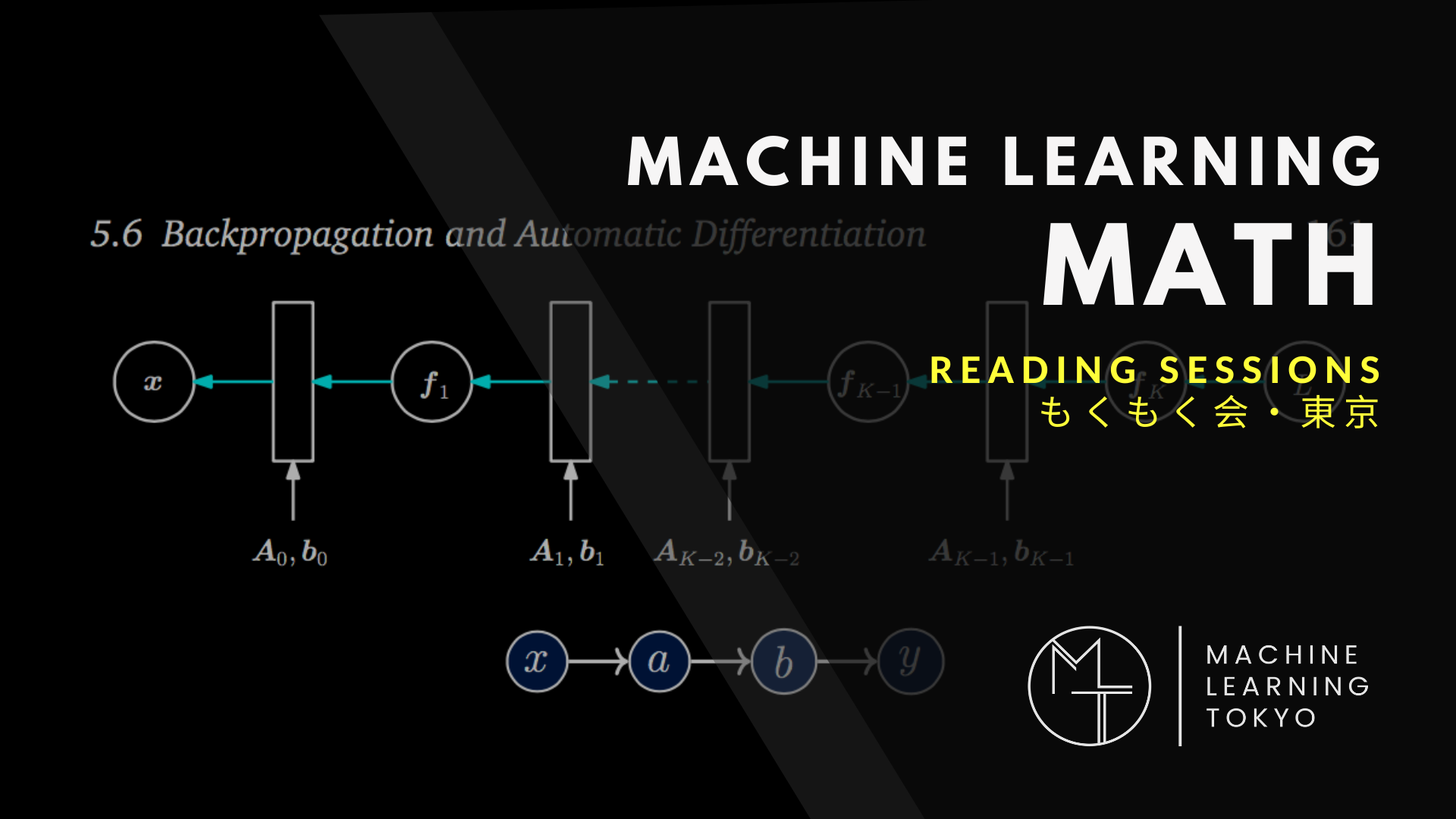 ML MATH READING SESSIONS – MLT | MACHINE LEARNING TOKYO
